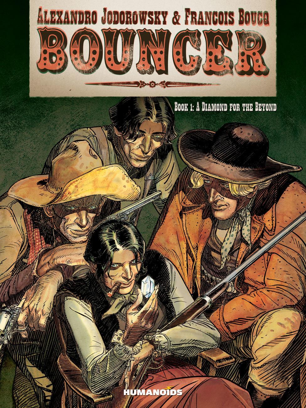 Bouncer #1 : A Diamond for the Beyond - Digital Comic