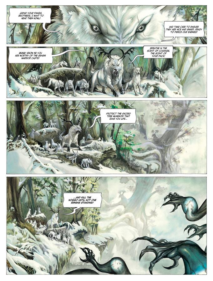 Excerpt 0 : Izuna #1 : Kamigakushi - Digital Comic