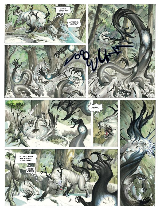 Excerpt 1 : Izuna #1 : Kamigakushi - Digital Comic