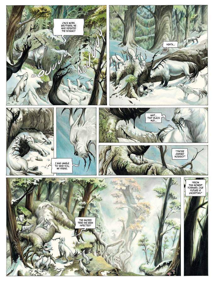 Excerpt 2 : Izuna #1 : Kamigakushi - Digital Comic