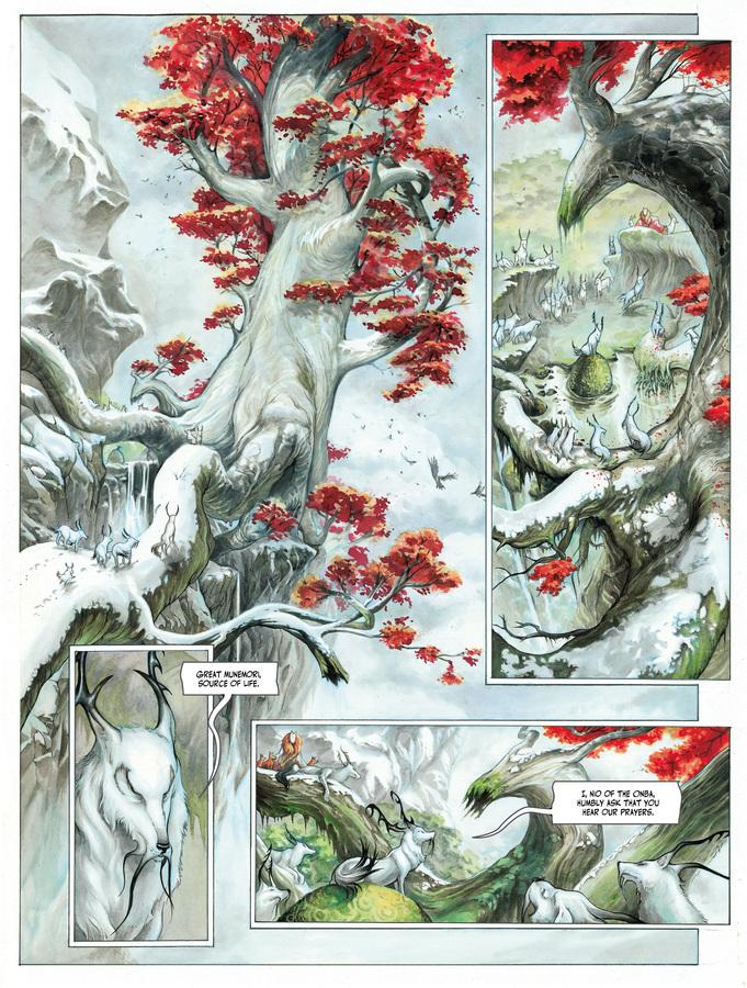 Excerpt 3 : Izuna #1 : Kamigakushi - Digital Comic