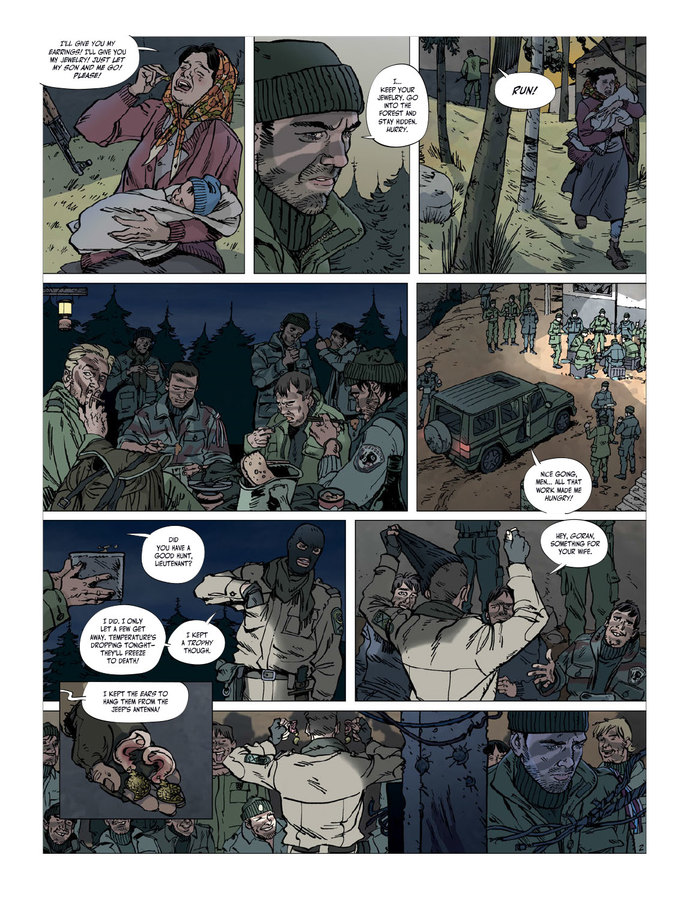 Excerpt 1 : Balkans Arena #1 - Digital Comic