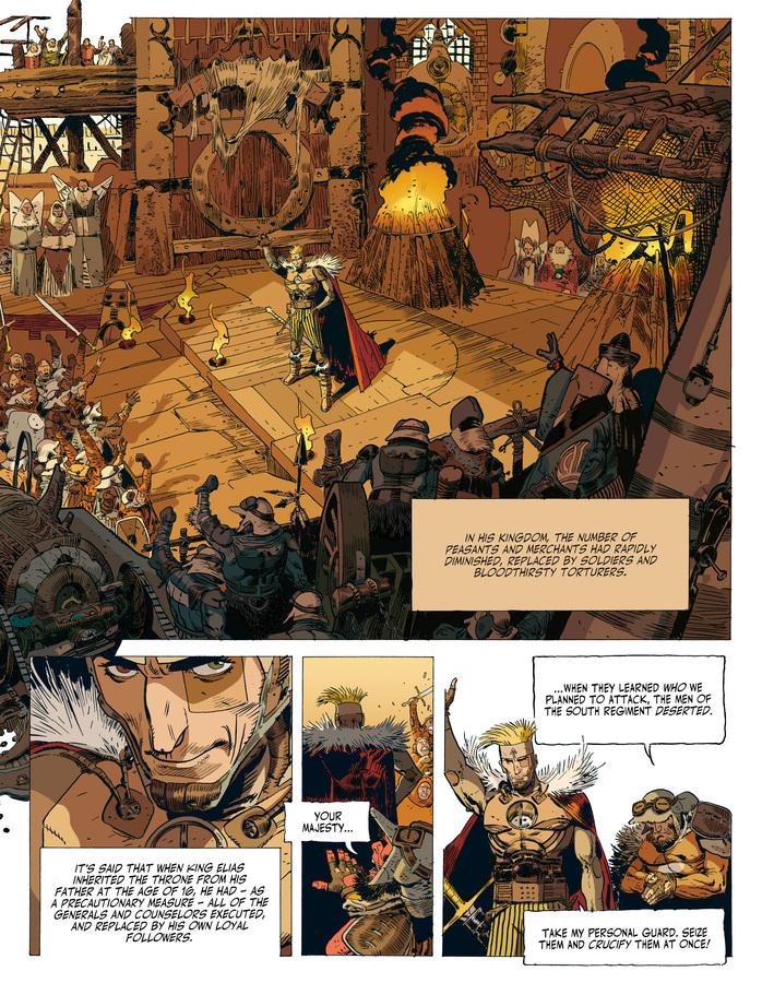 Excerpt 1 : Elias The Cursed - Hardcover Trade