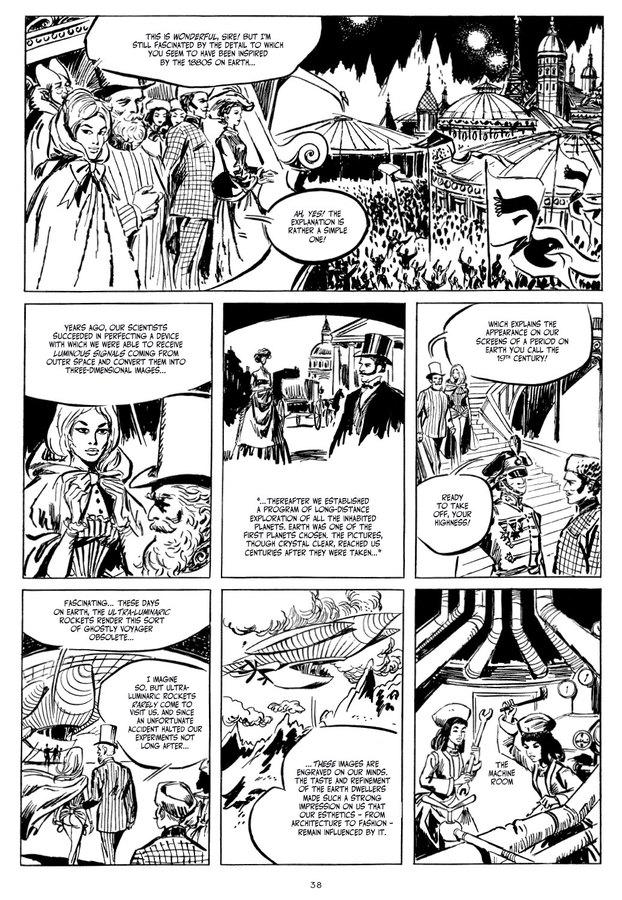 Excerpt 2 : Barbarella - Hardcover Trade