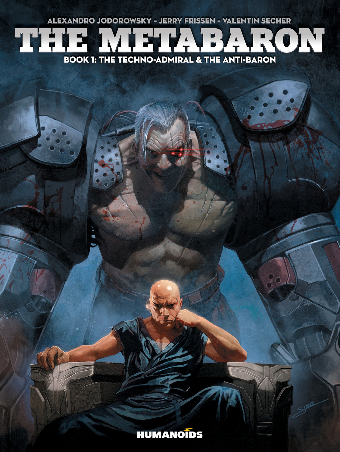 The Metabaron #1 : The Techno-Admiral & The Anti-Baron - Oversized Deluxe