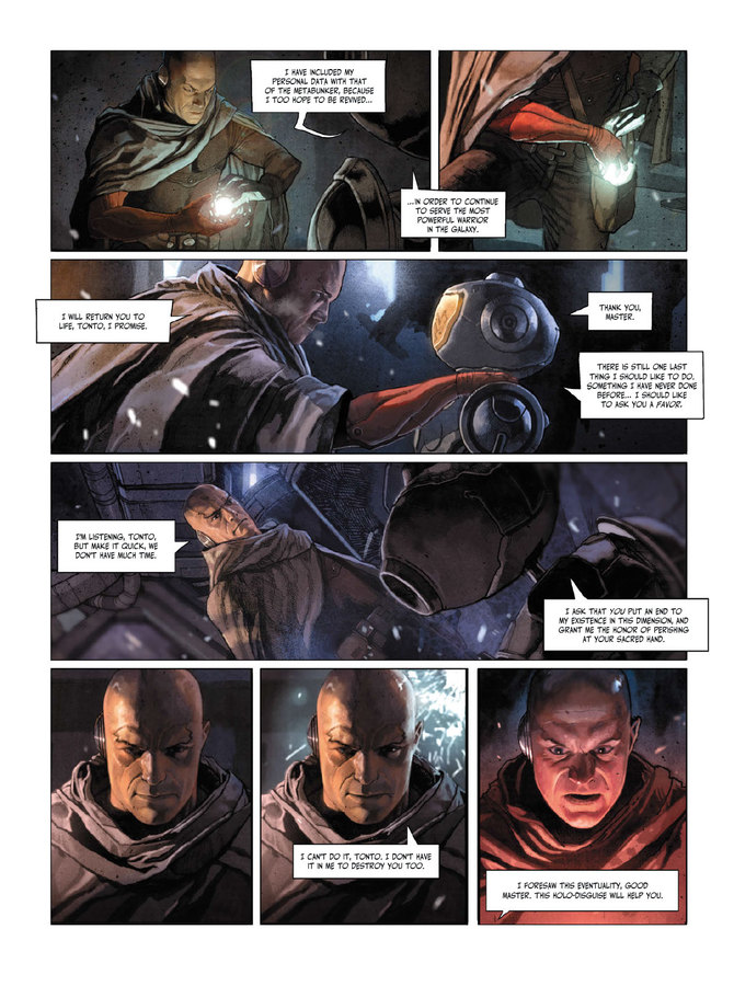 Excerpt 2 : The Metabaron #1 : The Techno-Admiral & The Anti-Baron - Oversized Deluxe