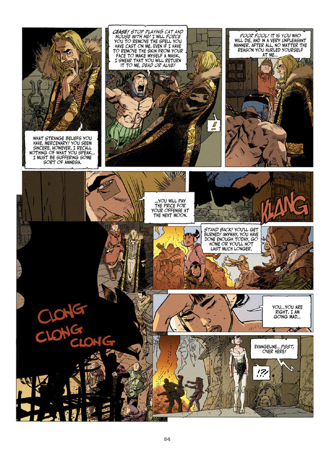 Excerpt 1 : Elias The Cursed - Softcover Trade