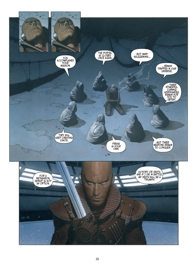 Excerpt 1 : Weapons of the Metabaron - Hardcover Trade