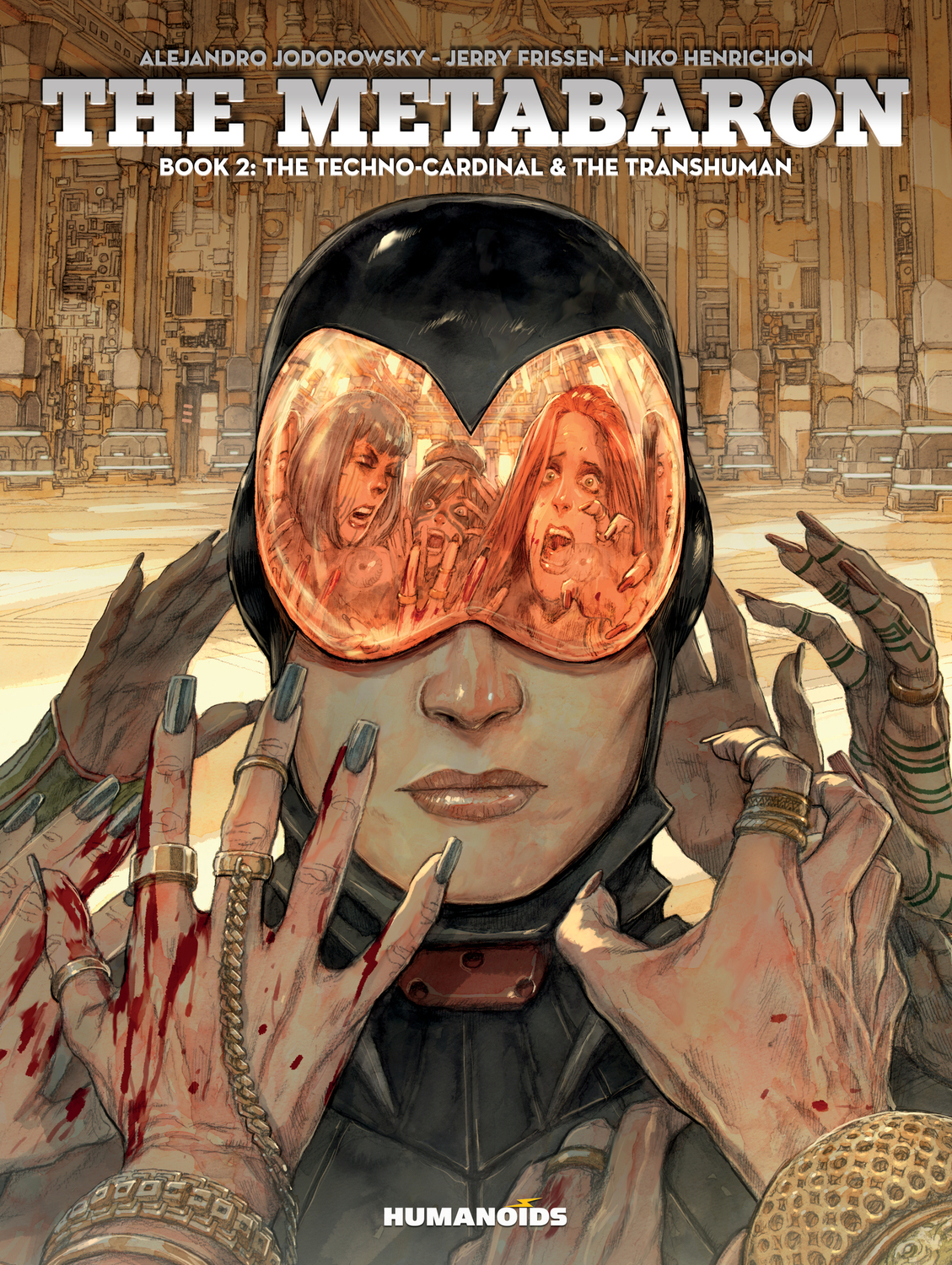 The Metabaron : Book 2: The Techno-Cardinal & The Transhuman - Oversized Deluxe