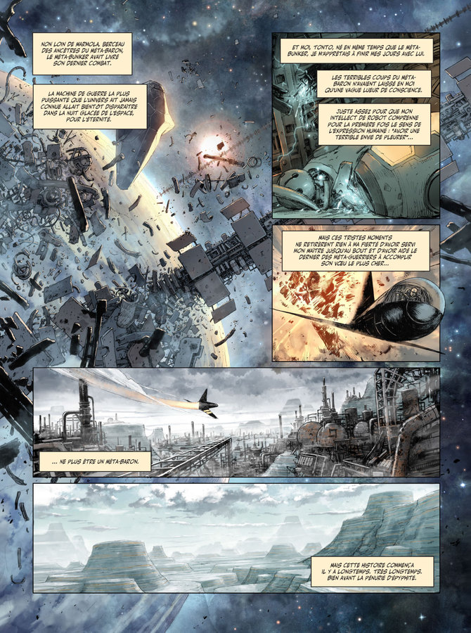 Excerpt 0 : The Metabaron : Book 2: The Techno-Cardinal & The Transhuman - Oversized Deluxe