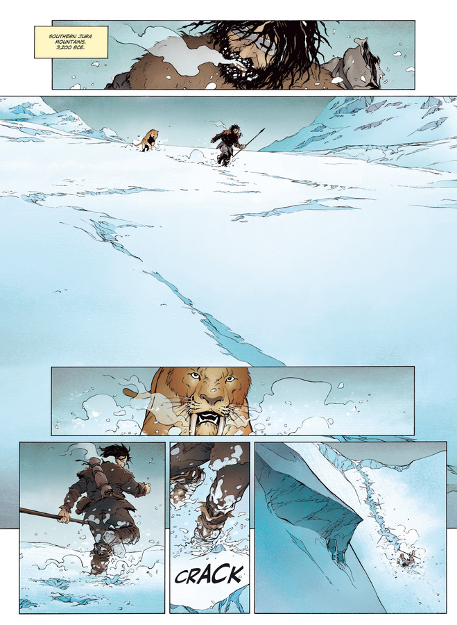 Excerpt 2 : Carthago #1 : The Fortuna Island Lagoon - Digital Comic
