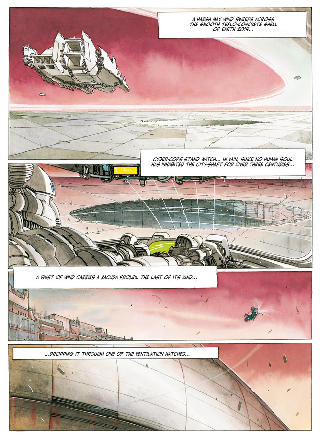Excerpt 0 : The Metabarons #1 : Othon & Honorata - Softcover Trade