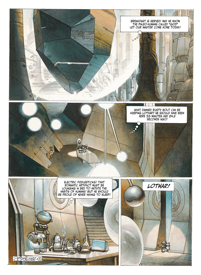 Excerpt 3 : The Metabarons #2 : Aghnar & Oda - Softcover Trade