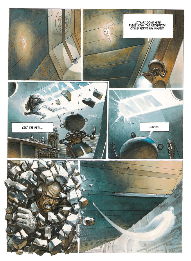 Excerpt 0 : The Metabarons #2 : Aghnar & Oda - Softcover Trade