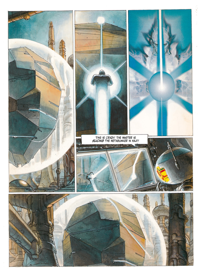Excerpt 1 : The Metabarons #2 : Aghnar & Oda - Softcover Trade