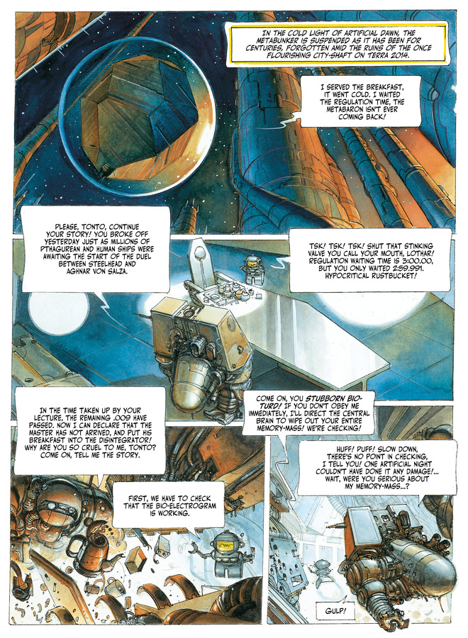 Excerpt 0 : The Metabarons #3 : Steelhead & Dona Vicenta - Softcover Trade