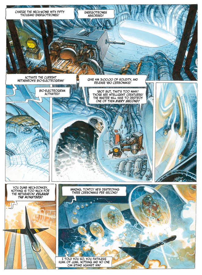 Excerpt 1 : The Metabarons #3 : Steelhead & Dona Vicenta - Softcover Trade