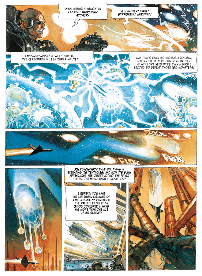 Excerpt 2 : The Metabarons #3 : Steelhead & Dona Vicenta - Softcover Trade