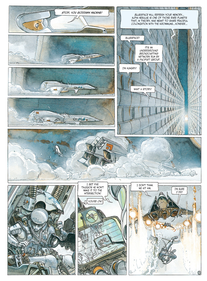Excerpt 2 : The Fourth Power #1 : Supramental - Digital Comic