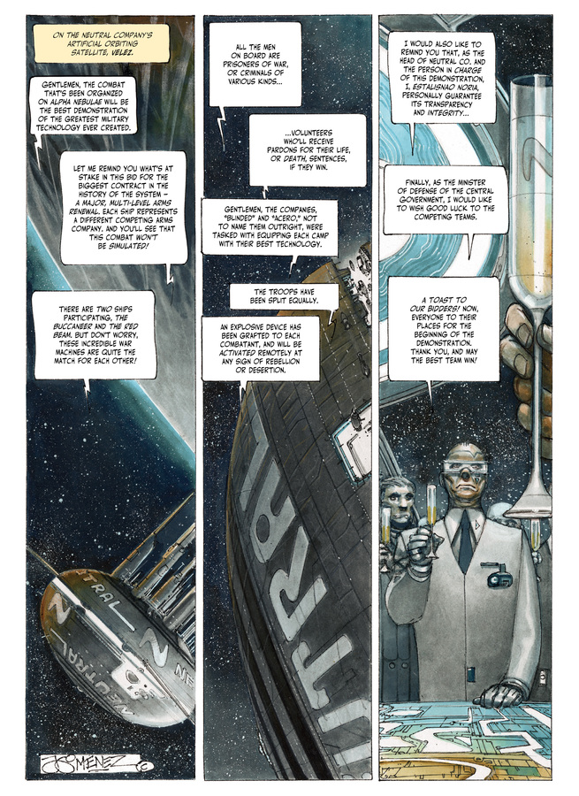 Excerpt 0 : The Fourth Power #4 : Island D-7 - Digital Comic