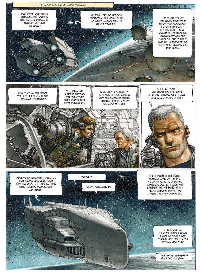 Excerpt 1 : The Fourth Power #4 : Island D-7 - Digital Comic