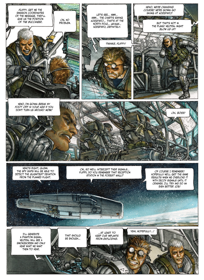Excerpt 2 : The Fourth Power #4 : Island D-7 - Digital Comic