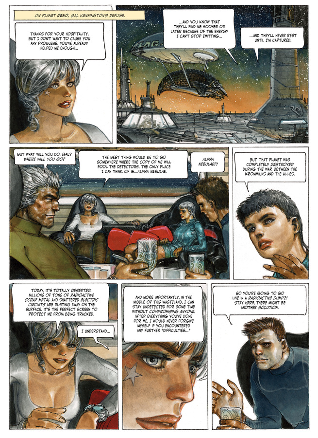Excerpt 3 : The Fourth Power #4 : Island D-7 - Digital Comic
