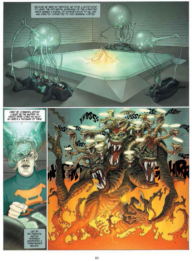 Excerpt 2 : Humanoids Presents - The Jodoverse #1 - Digital Comic