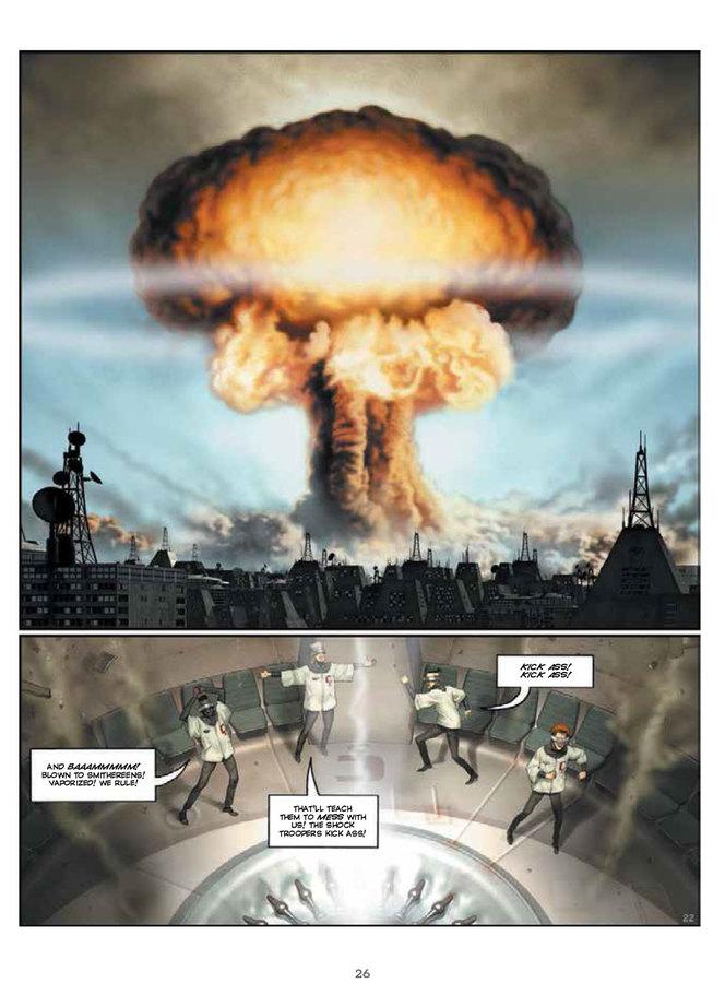 Excerpt 3 : Humanoids Presents - The Jodoverse #1 - Digital Comic