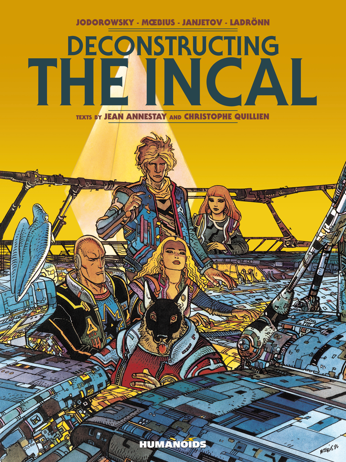 Deconstructing The Incal - Oversized Deluxe