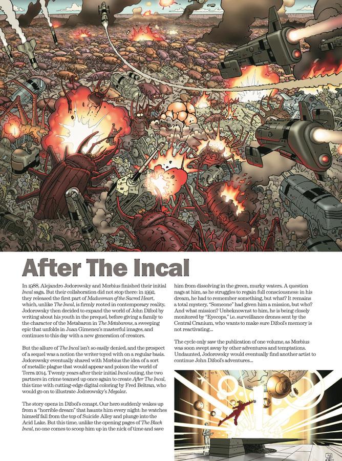 Excerpt 2 : Deconstructing The Incal - Oversized Deluxe
