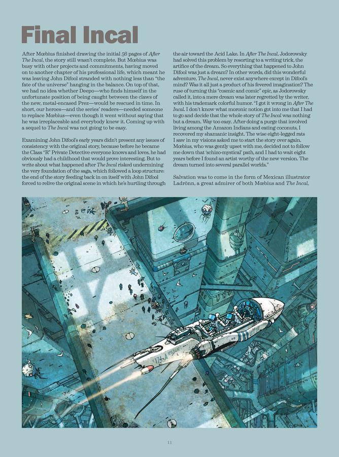 Excerpt 3 : Deconstructing The Incal - Oversized Deluxe