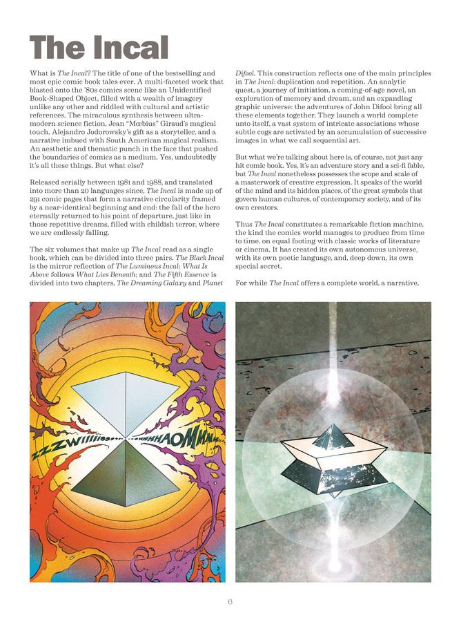 Excerpt 0 : Deconstructing The Incal - Oversized Deluxe