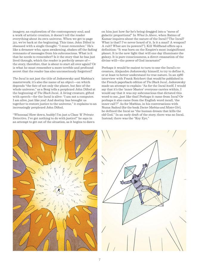 Excerpt 1 : Deconstructing The Incal - Oversized Deluxe