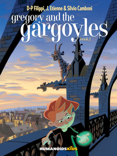 Gregory and the Gargoyles #1 - Hardcover Trade