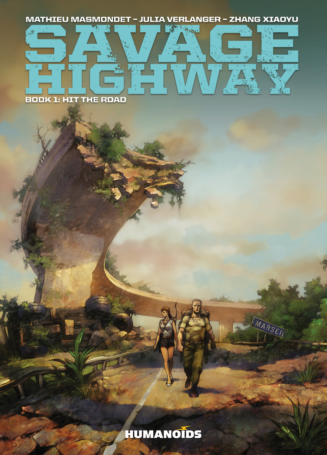 Savage Highway #1 : Hit the Road - Digital Comic