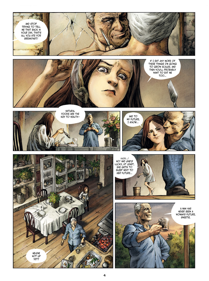 Excerpt 1 : Savage Highway #1 : Hit the Road - Digital Comic