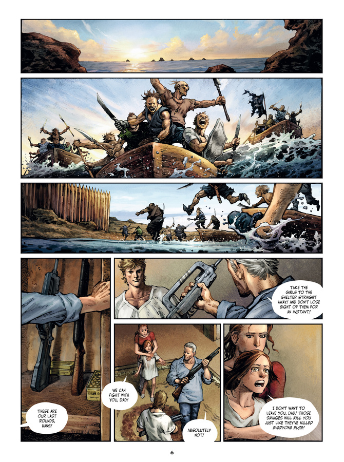 Excerpt 2 : Savage Highway #1 : Hit the Road - Digital Comic