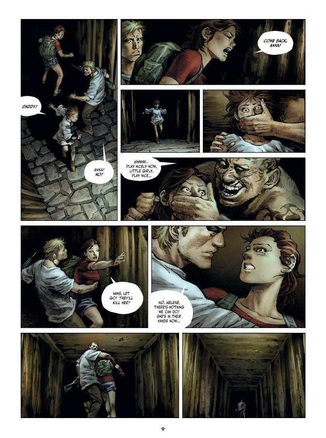 Excerpt 3 : Savage Highway #1 : Hit the Road - Digital Comic