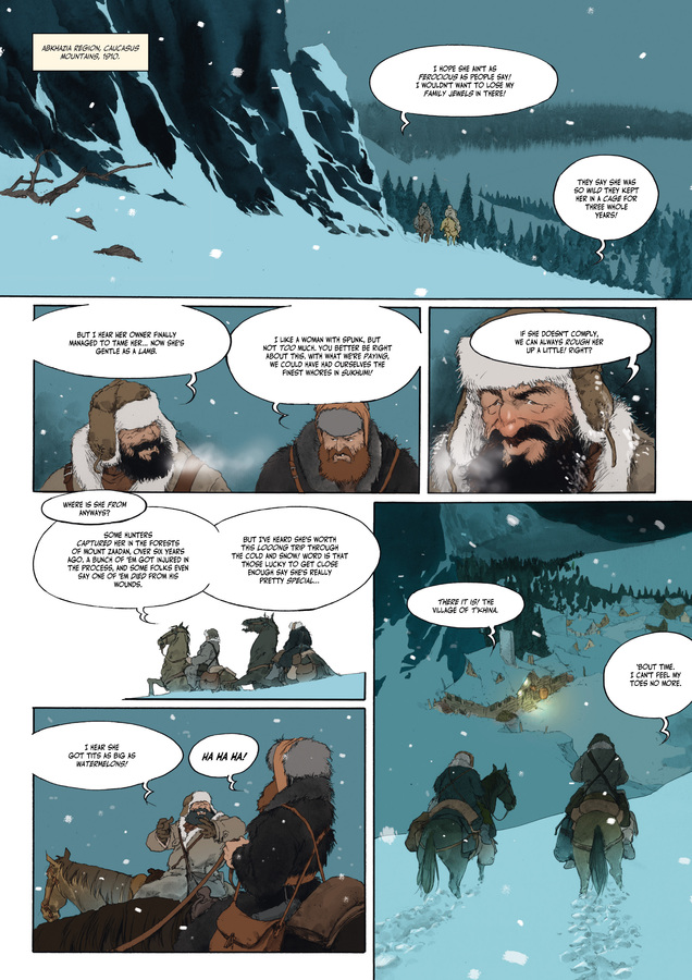 Excerpt 0 : Carthago Adventures #1 : Zana - Digital Comic