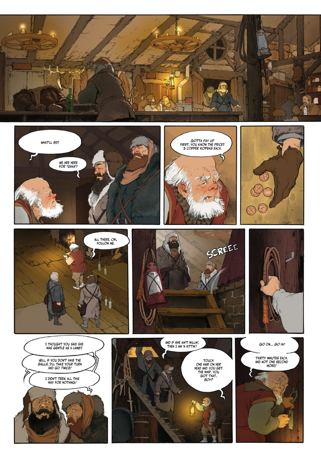 Excerpt 1 : Carthago Adventures #1 : Zana - Digital Comic