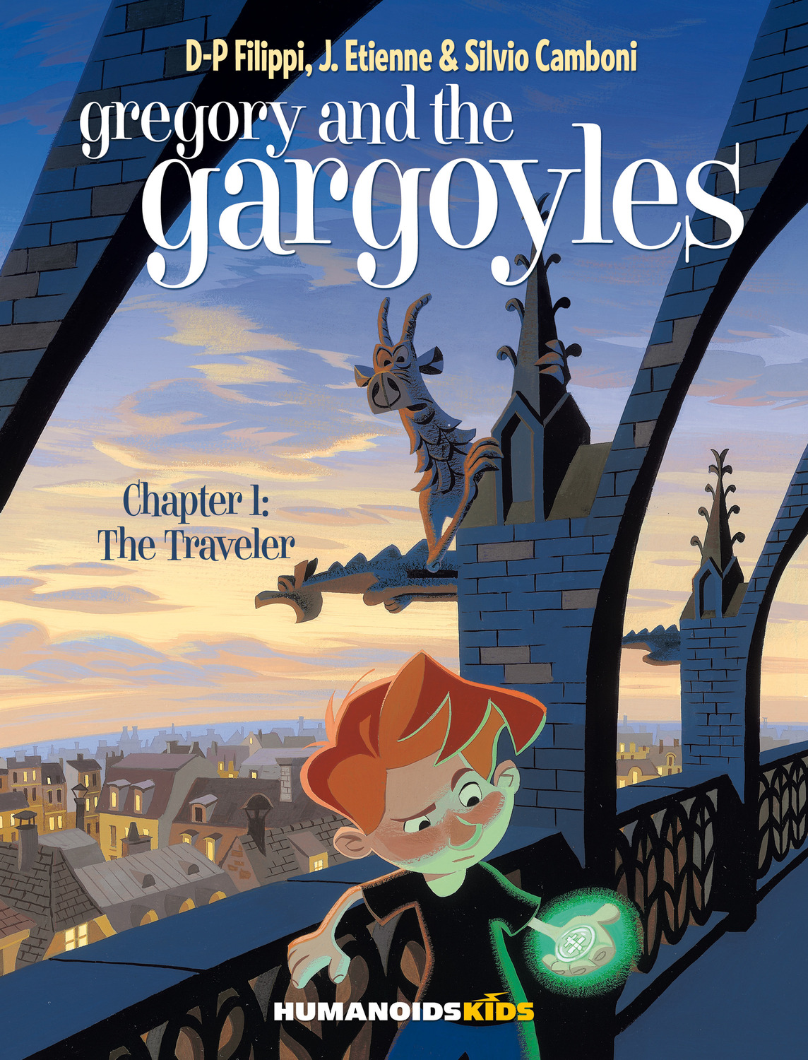 Gregory and the Gargoyles #1 : The Traveler - Digital Comic