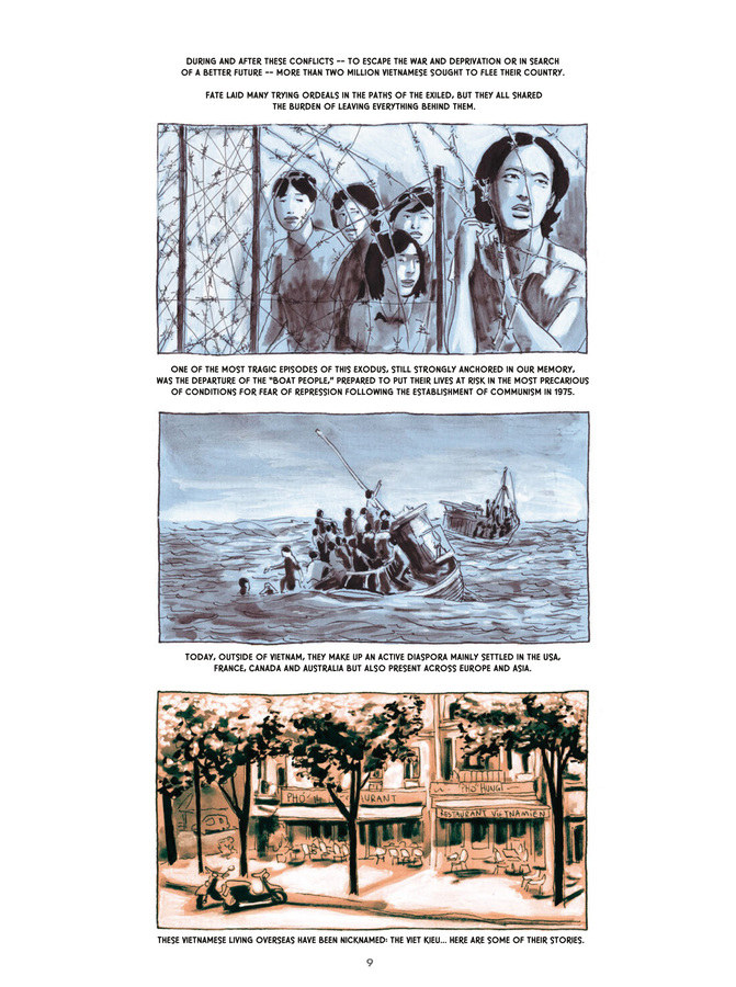 Excerpt 3 : Vietnamese Memories #1 : Leaving Saigon - Softcover Trade