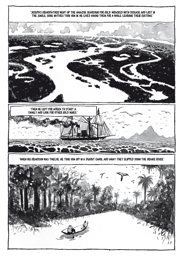 Excerpt 0 : Adrift #1 - Digital Comic