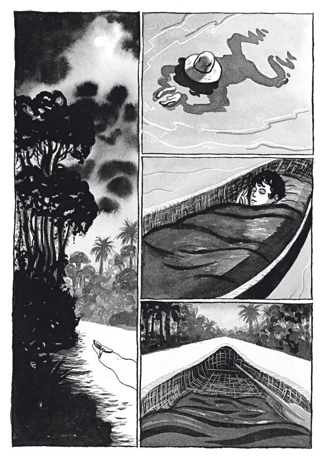Excerpt 1 : Adrift #1 - Digital Comic