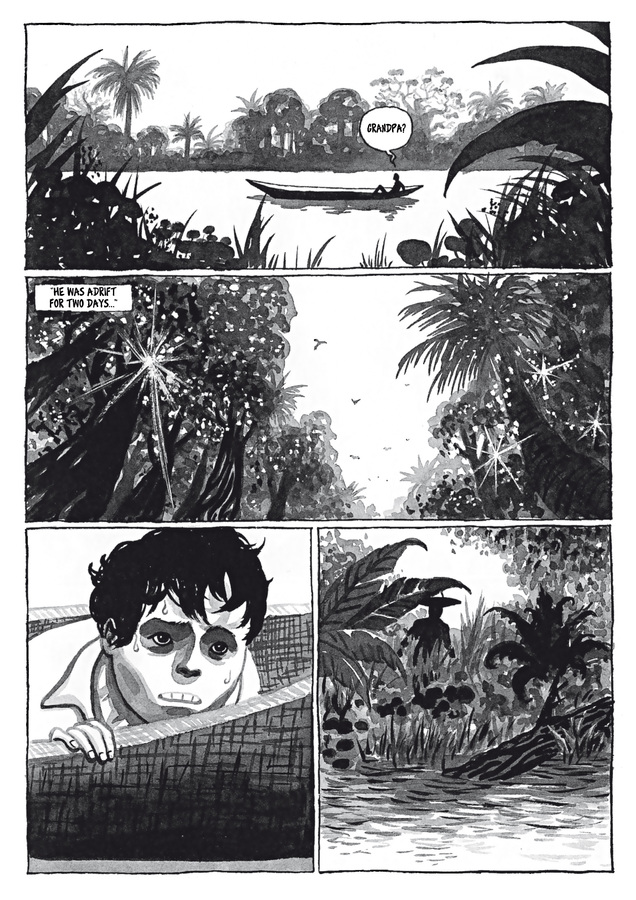 Excerpt 2 : Adrift #1 - Digital Comic