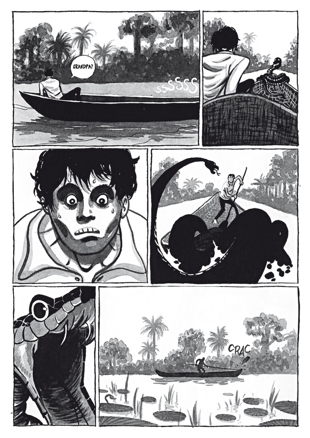 Excerpt 3 : Adrift #1 - Digital Comic
