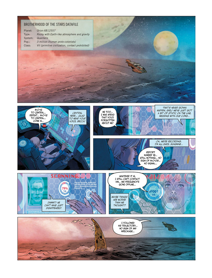 Excerpt 0 : Orion's Outcasts #1 - Digital Comic