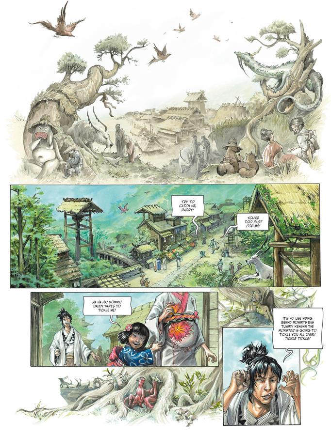 Excerpt 0 : Izuna #1 - Oversized Deluxe