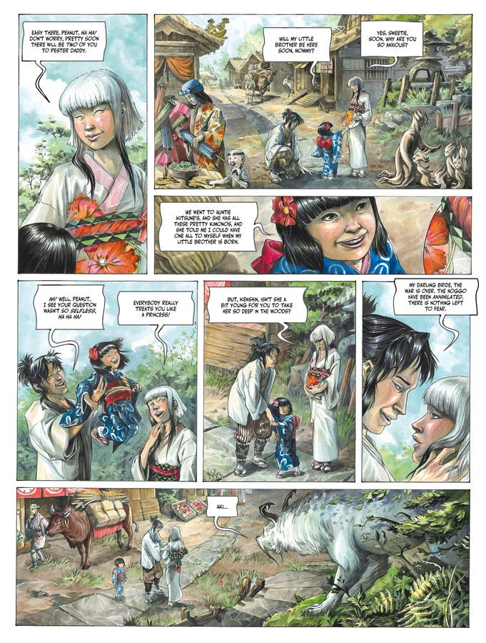 Excerpt 1 : Izuna #1 - Oversized Deluxe